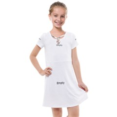 Stripes And Other Shapes                                                                Kids  Cross Web Dress