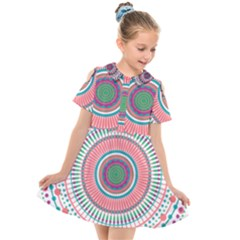 Mandala 1875410 Mandala 1875416 Kids  Short Sleeve Shirt Dress