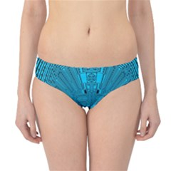Technology Board Trace Digital Hipster Bikini Bottoms
