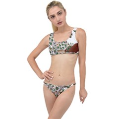 Peacock Graceful Bird Animal The Little Details Bikini Set