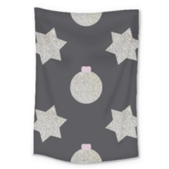 Star Silver Large Tapestry by alllovelyideas