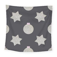 Star Silver Square Tapestry (large) by alllovelyideas