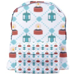Geometric Patterns Pattern Candles Lights Giant Full Print Backpack