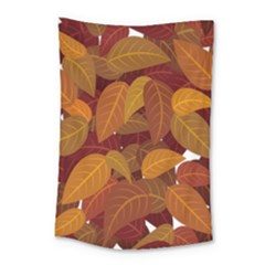 Leaves Pattern Small Tapestry