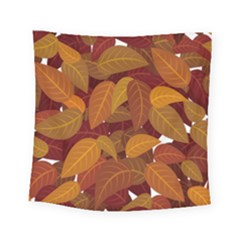 Leaves Pattern Square Tapestry (small)