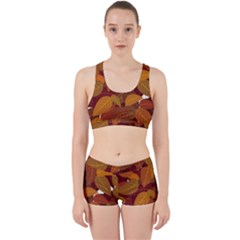 Leaves Pattern Work It Out Gym Set