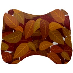 Leaves Pattern Head Support Cushion