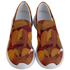 Leaves Pattern Women s Lightweight Slip Ons