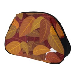 Leaves Pattern Full Print Accessory Pouch (small)