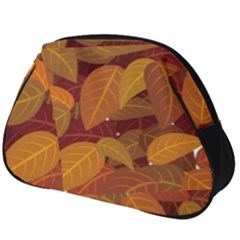 Leaves Pattern Full Print Accessory Pouch (big)