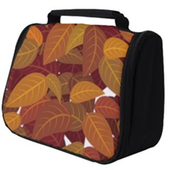 Leaves Pattern Full Print Travel Pouch (big)