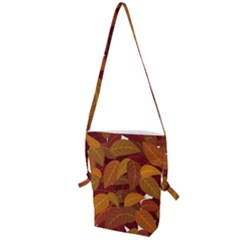 Leaves Pattern Folding Shoulder Bag