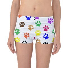 Pawprints Paw Prints Paw Animal Boyleg Bikini Bottoms