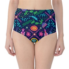 Pattern Nature Design Patterns Classic High Waist Bikini Bottoms