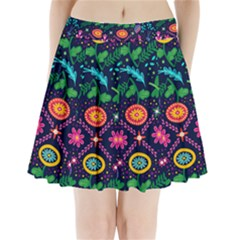 Pattern Nature Design Patterns Pleated Mini Skirt