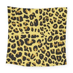 Animal Fur Skin Pattern Form Square Tapestry (large) by Wegoenart
