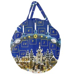 Advent Calendar Advent Gifts Giant Round Zipper Tote