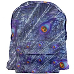 Peacock Feathers Color Plumage Giant Full Print Backpack