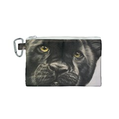 Panther Canvas Cosmetic Bag (small)