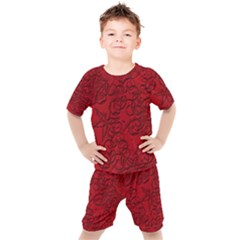Christmas Background Red Star Kid s Set by Simbadda