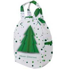 Fir Tree Christmas Christmas Tree Travel Backpacks by Simbadda