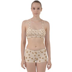 Pattern Gingerbread Star Perfect Fit Gym Set by Simbadda