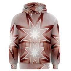 Star Christmas Festival Decoration Men s Pullover Hoodie by Simbadda