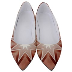 Star Christmas Festival Decoration Women s Low Heels by Simbadda