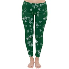 Template Winter Christmas Xmas Classic Winter Leggings