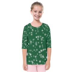 Template Winter Christmas Xmas Kids  Quarter Sleeve Raglan Tee