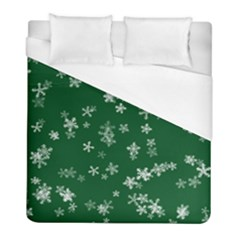 Template Winter Christmas Xmas Duvet Cover (full/ Double Size)