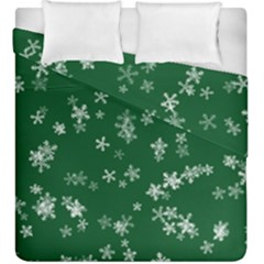 Template Winter Christmas Xmas Duvet Cover Double Side (king Size)