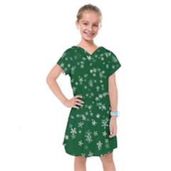 Template Winter Christmas Xmas Kids  Drop Waist Dress