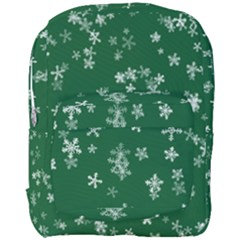Template Winter Christmas Xmas Full Print Backpack