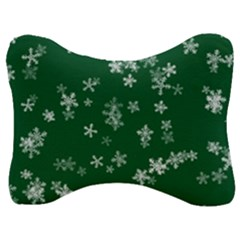 Template Winter Christmas Xmas Velour Seat Head Rest Cushion