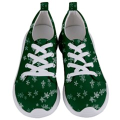 Template Winter Christmas Xmas Women s Lightweight Sports Shoes