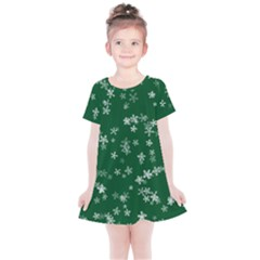 Template Winter Christmas Xmas Kids  Simple Cotton Dress