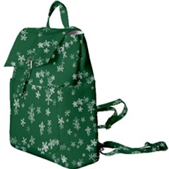 Template Winter Christmas Xmas Buckle Everyday Backpack