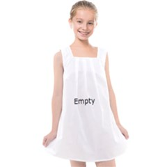 Bubbles Chemistry Kids  Cross Back Dress