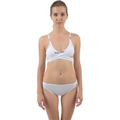 Window Contemporary Wrap Around Bikini Set