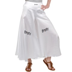 Christmas Lights Screen Dance  Satin Palazzo Pants