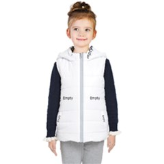Christmas Lights On The Tree Kid s Hooded Puffer Vest