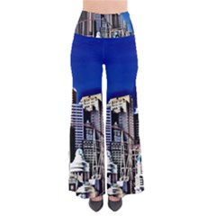 Las Vegas Strip Style So Vintage Palazzo Pants