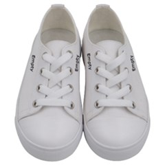 Apple 93 Kids  Low Top Canvas Sneakers