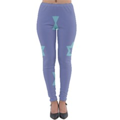 Star Christmas Night Seamlessly Lightweight Velour Leggings