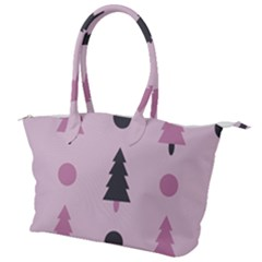 Christmas Trees Tree Fir Den Canvas Shoulder Bag