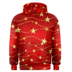 Background Christmas Decoration Men s Pullover Hoodie