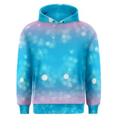 Background Abstract Christmas Snow Men s Overhead Hoodie