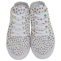 Snowflakes Snow Winter Ice Cold Half Slippers
