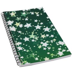 Christmas Star Advent Background 5 5  X 8 5  Notebook New by Wegoenart